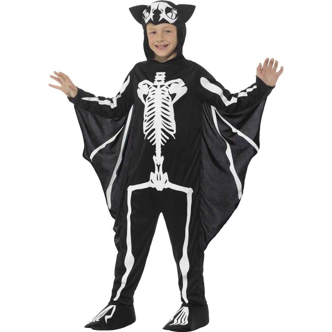 fledermaus kost m kind kinderkost m skelett 23 99. Black Bedroom Furniture Sets. Home Design Ideas