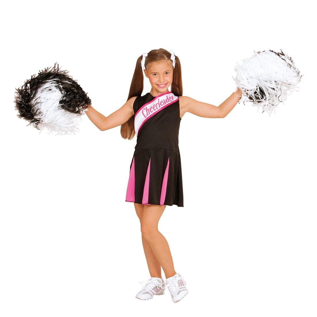 kinder cheerleader kostüm mädchen cheerleaderkostüm 140 8