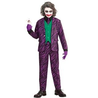Gestreifter Hosenanzug Joker Kostüm für Damen Bösewicht Anzug Geist Frauenanzug