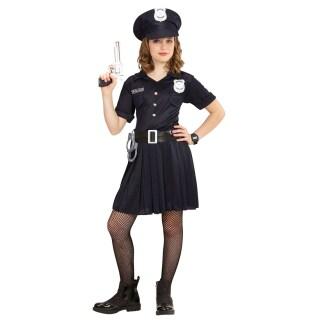 Polizeikostum Madchen Kinder Polizistin Kostum 140 8 10 Jahre 23