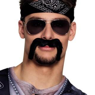 Rocker Bart Biker Oberlippenbart 299