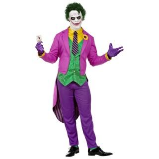 Tolles Joker Kostum Fur Manner Violett Grun 39 99