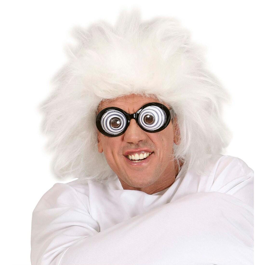Graue Perucke Professor Erfinderperucke 12 99
