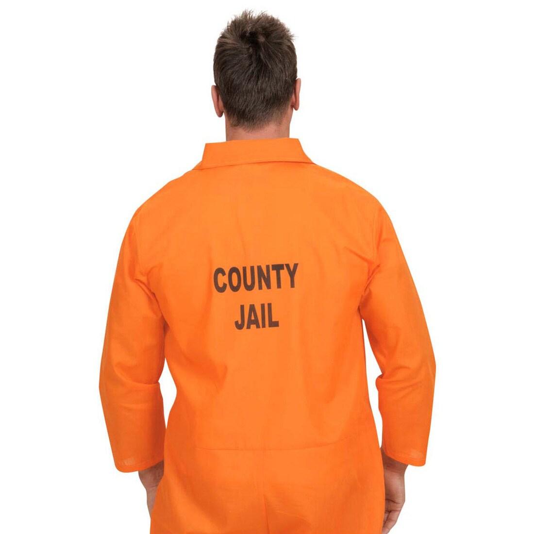 Kostüm Sträfling Gefangener Sträflingskostüm Größe M Fasching Karneval Halloween