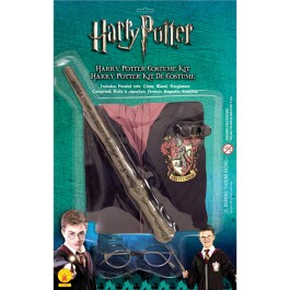 Kostüm Harry Potter Umhang Zauberstab Brille im Set