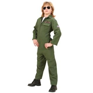 Kinder Fasching Kostum Pilot Kinderkostum Jetpilot 158cm 22 99