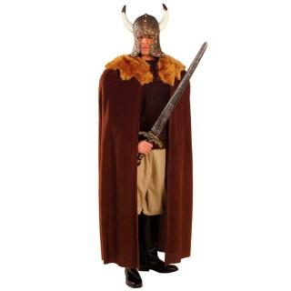 Mittelalter mantel mit fell