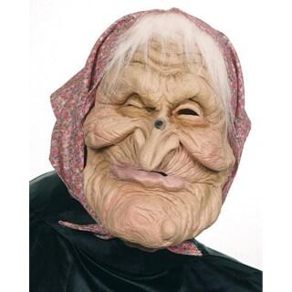 Halloween Maske Oma Maske Hexenmaske Horrormaske Hexe 9 99