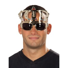 Brille Totenkopf neon fluoreszierend Scherzbrille Spaßbrille Halloween Fasching