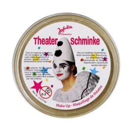 Makeup Theaterschminke gold