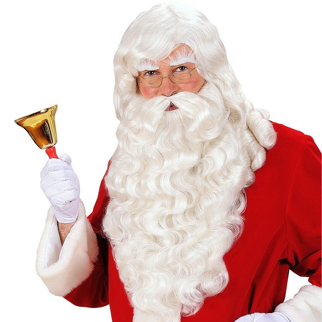 Nikolausbart Bart weiß Nikolaus Santa Weihnachtsmann Weihnachten Rauschebart neu