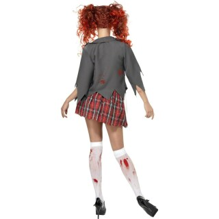Damen Zombie Kostüm High School Girl S 36/38