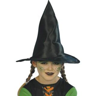 Halloween Schminktipps Kinder Hexe.Kinder Hexenhut Hexen Hut Schwarz 30 Cm Kinderhexenhut Halloween Kind 3 99