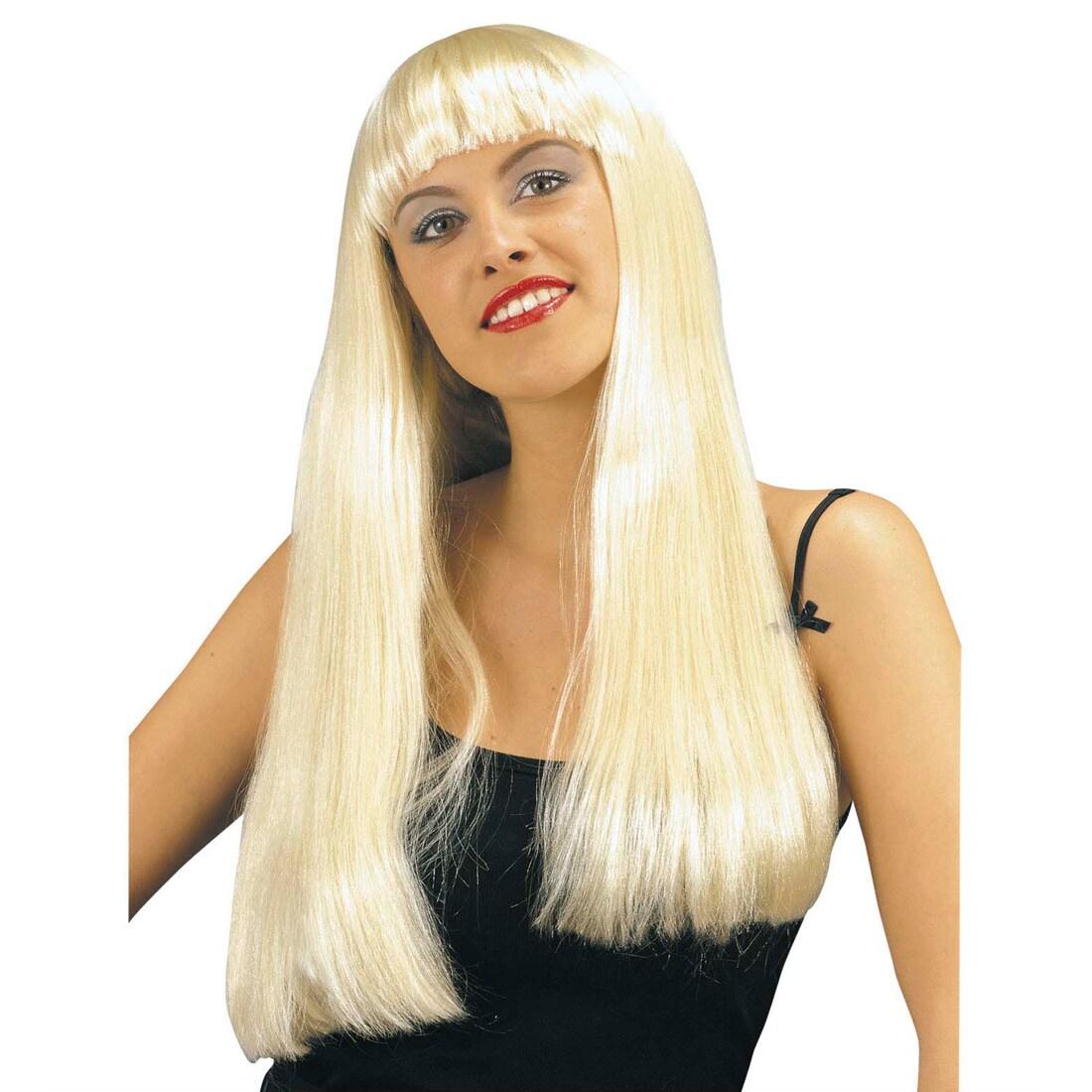 Blonde haare pony halblange mit Vintage Frisuren