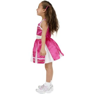 Kinder Cheerleader Kostüm Cheerleaderkostüm pink M 140 cm