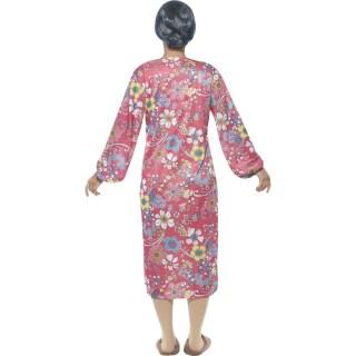 Oma Kostum Alte Frau Mehrfarbig M 40 42 Grossmutter Kostum Oma