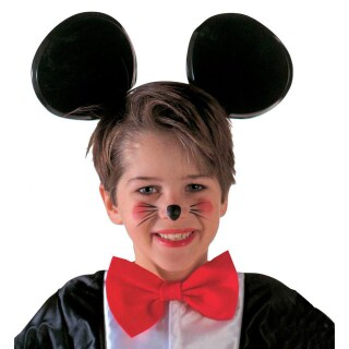 Micky Maus Haarreif Fur Kinder Mausohren Kopfbugel Schwarz 3 99