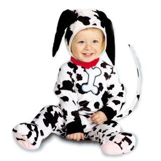 Baby Dalmatiner Kostüm Hundekostüm Schwarz Weiß 90 Cm 2299
