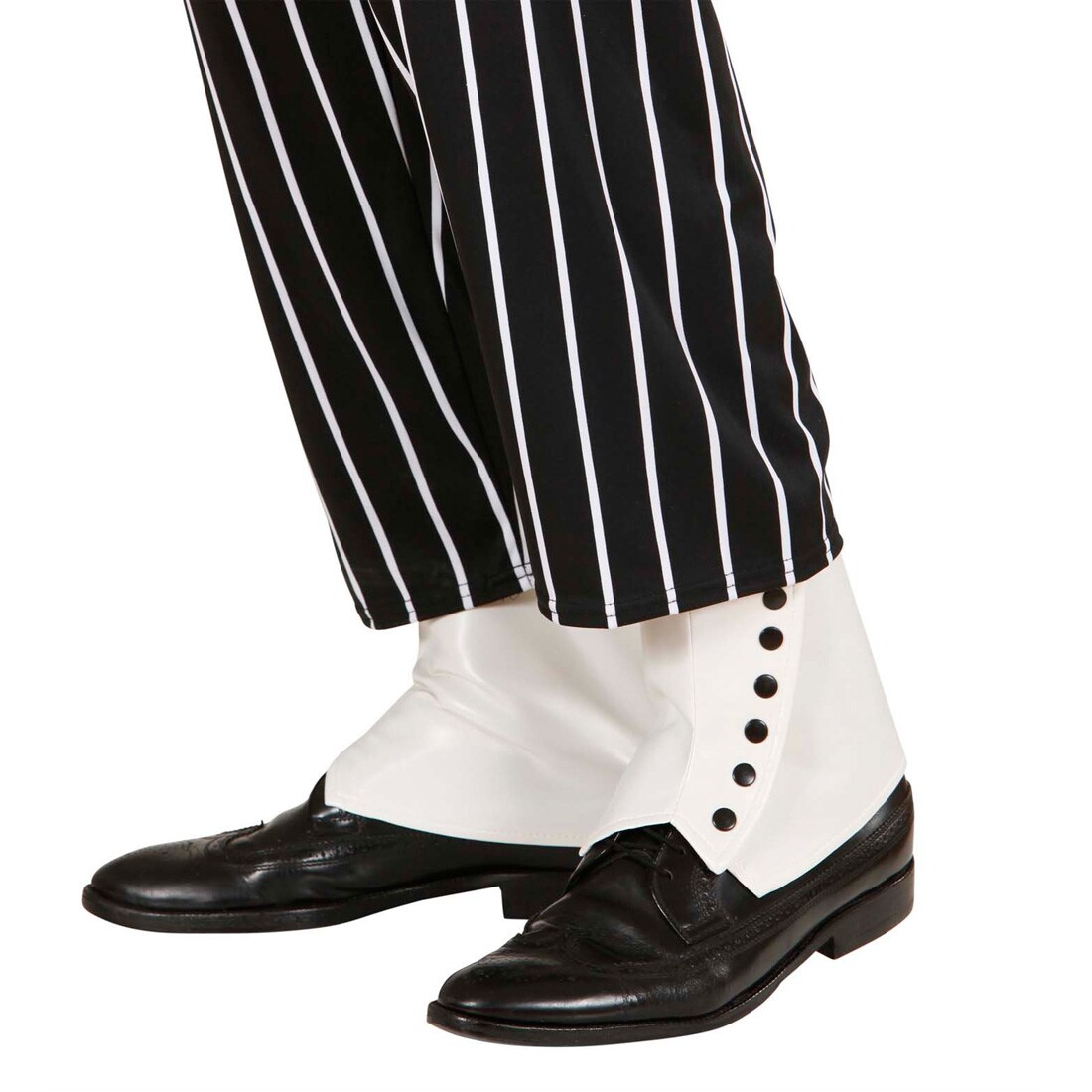 20er Jahre Gamaschen Schuh Stulpen Fußstulpen weiß