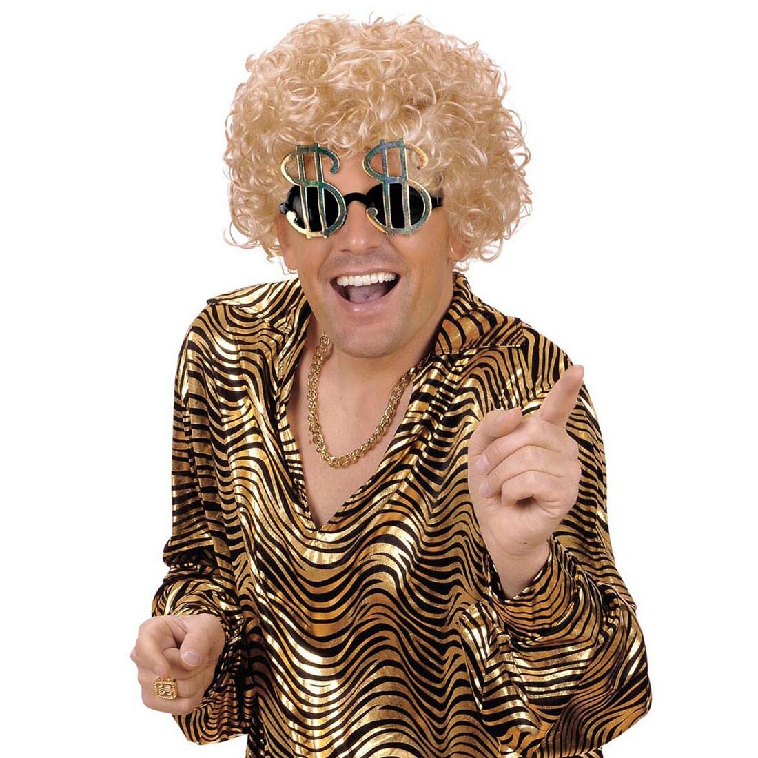 Dollarzeichen Brille Sonnenbrille Dollar Karneval Fasching, 4,99 €