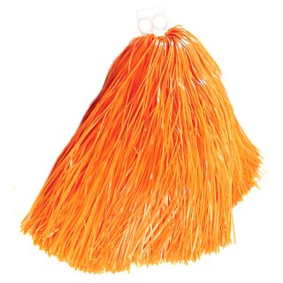 Cheerleader Tanzwedel Pom Pom orange