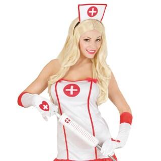 wei e damen handschuhe krankenschwester sexy damenhandschuhe lange fi 4 99. Black Bedroom Furniture Sets. Home Design Ideas
