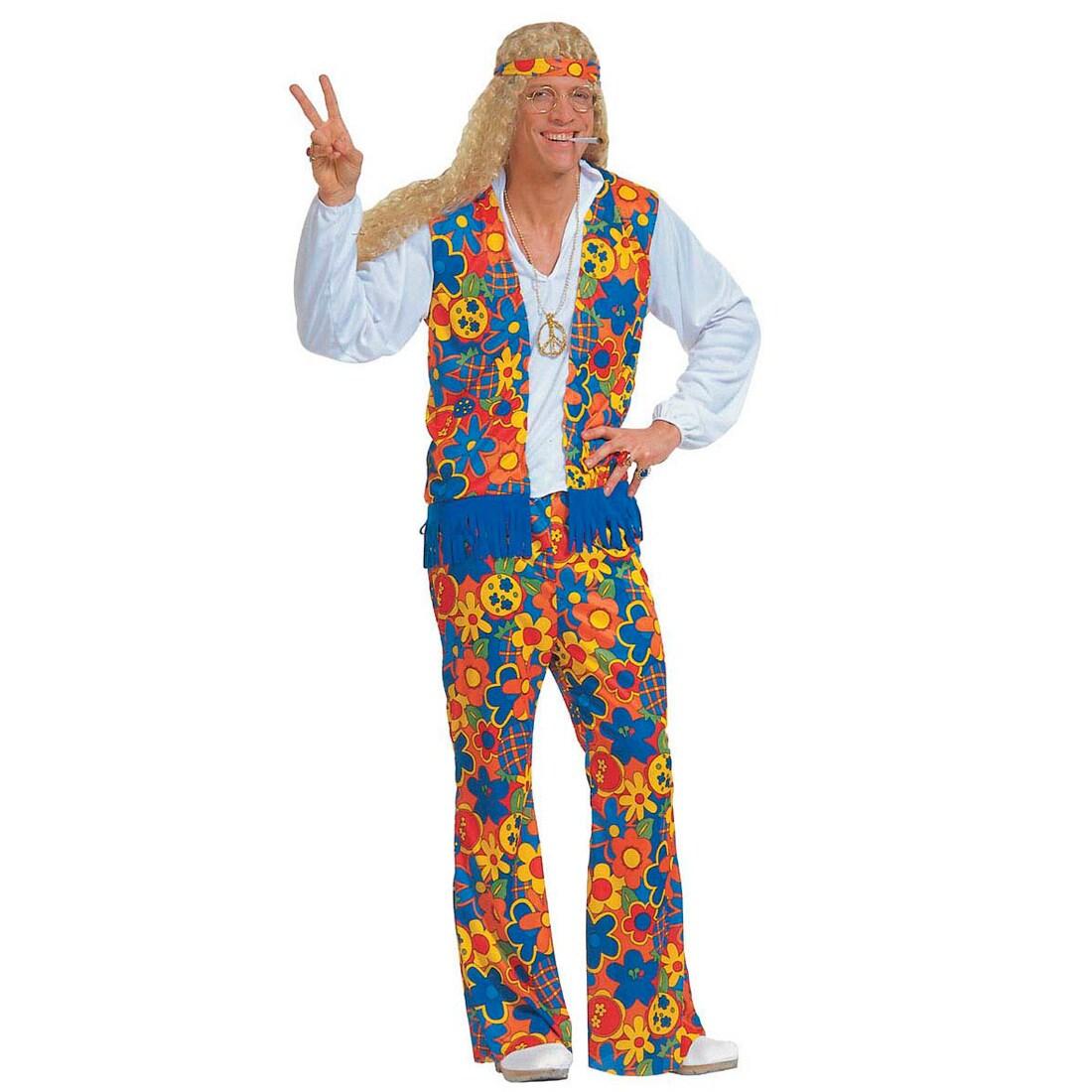 Herren Kostum Hippie Man Gr Xl Kostume Fasching 27 99