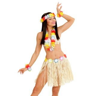 Hawaii Set Hula Damen Kostüm