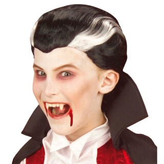 Kinder Perucke Dracula Halloween Vampir Perucken 10 99