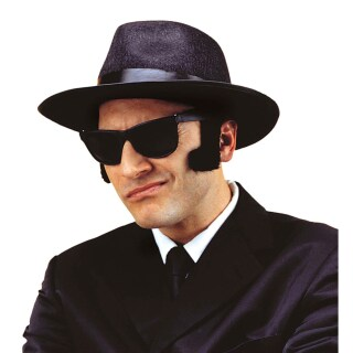 King of Blues Brille Blues Brothers Gangster Brille