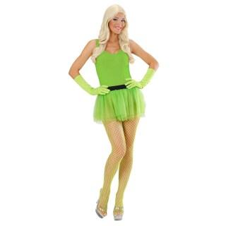 Mini Tutu Rock Neon Tullrock Grun Tull Petticoat 8 99