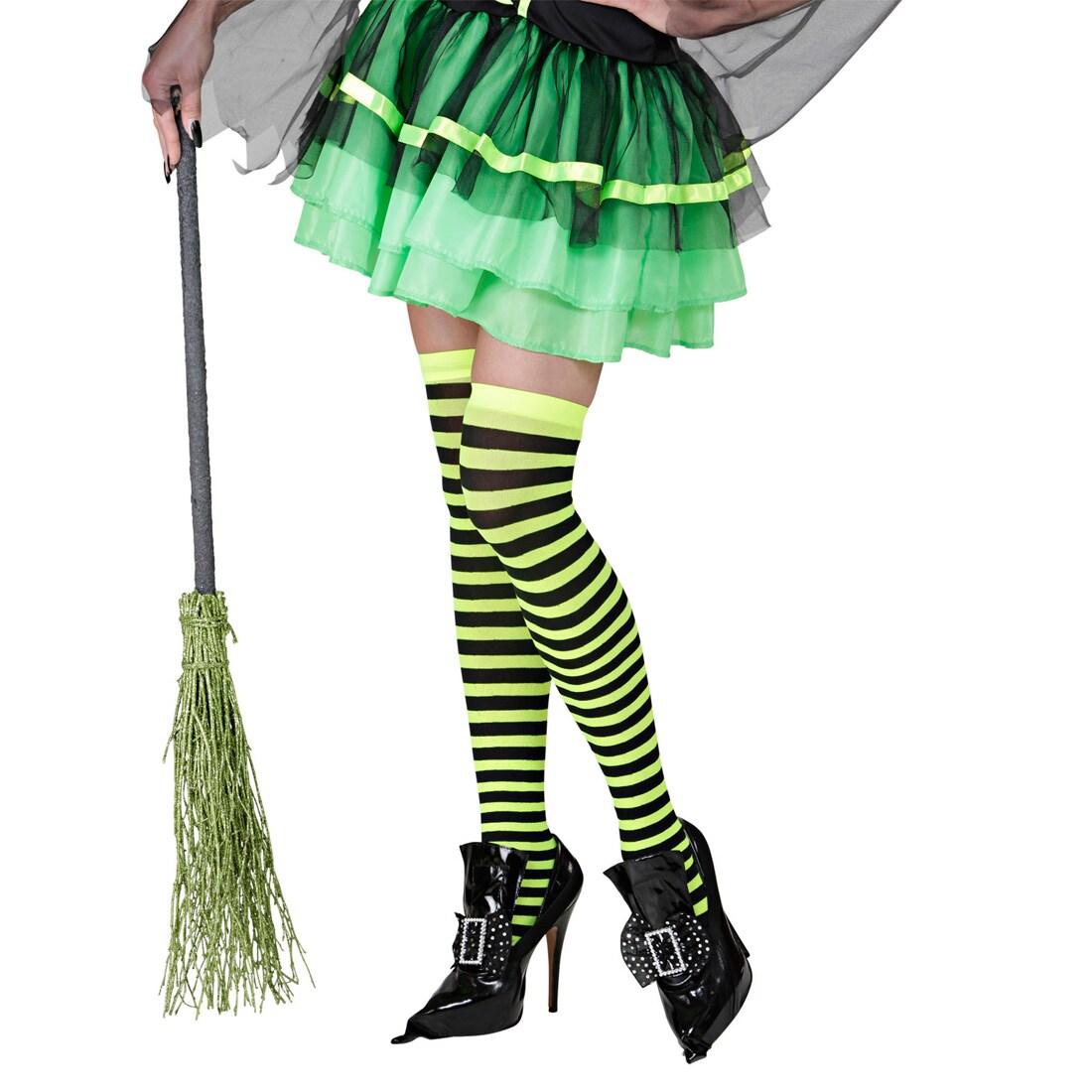 Gothic Schuhüberzieher Hexen Gamaschen Zauberin Schnallenschuhe Halloween Magier