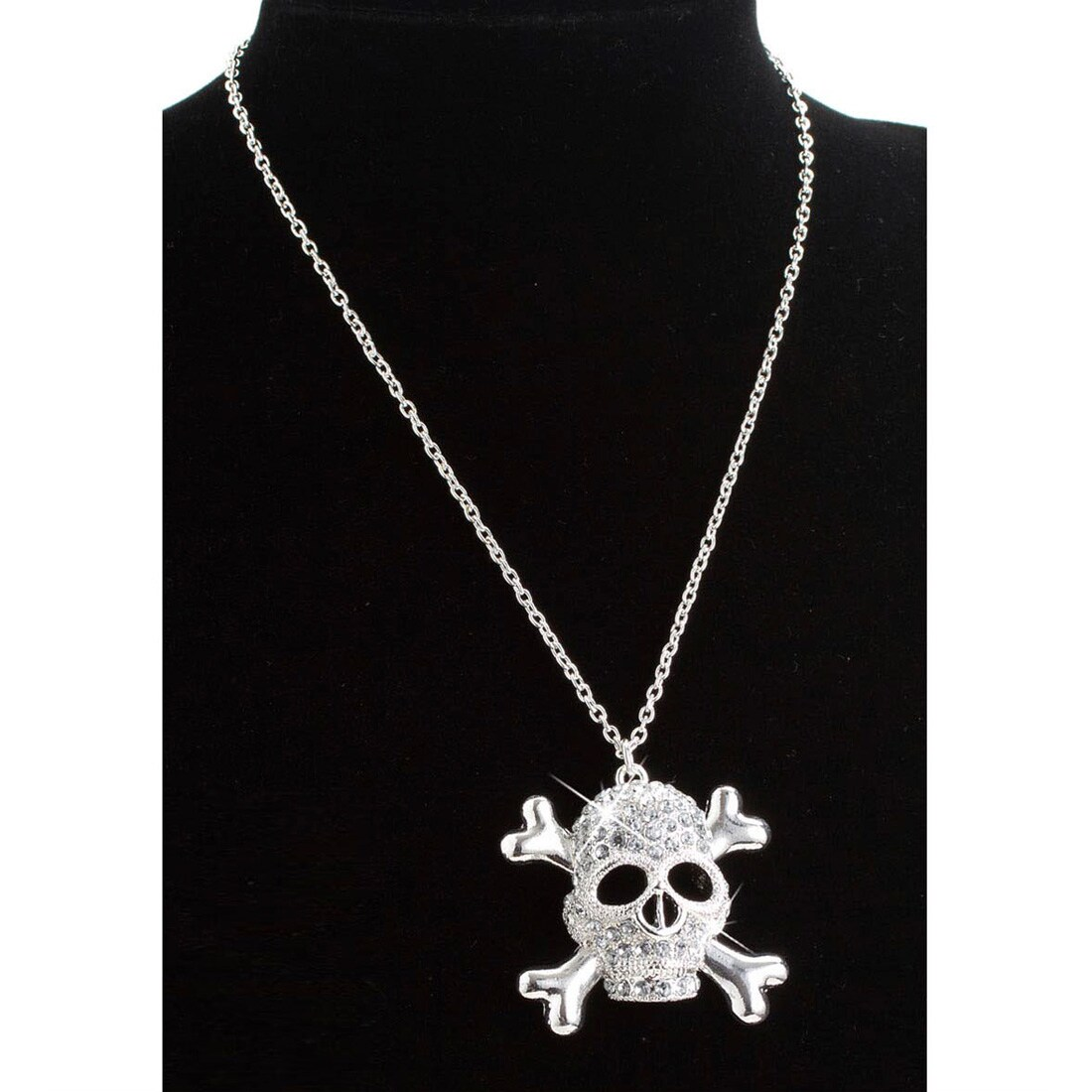 Jannes Piraten-Kette Gold mit Totenkopf