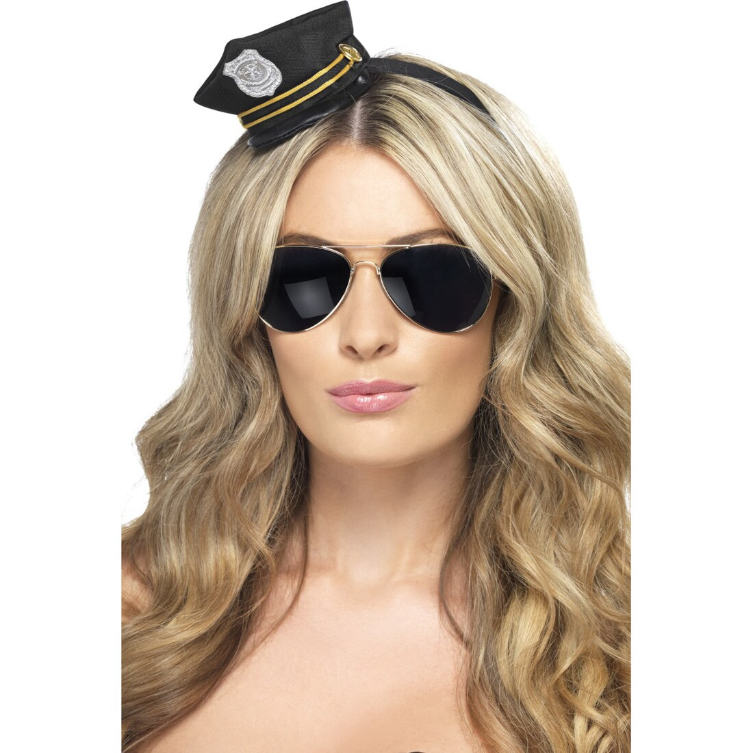 Polizeimütze für Kinder Classic NEU Karneval Fasching Hut Mütze Kopfbedeckung