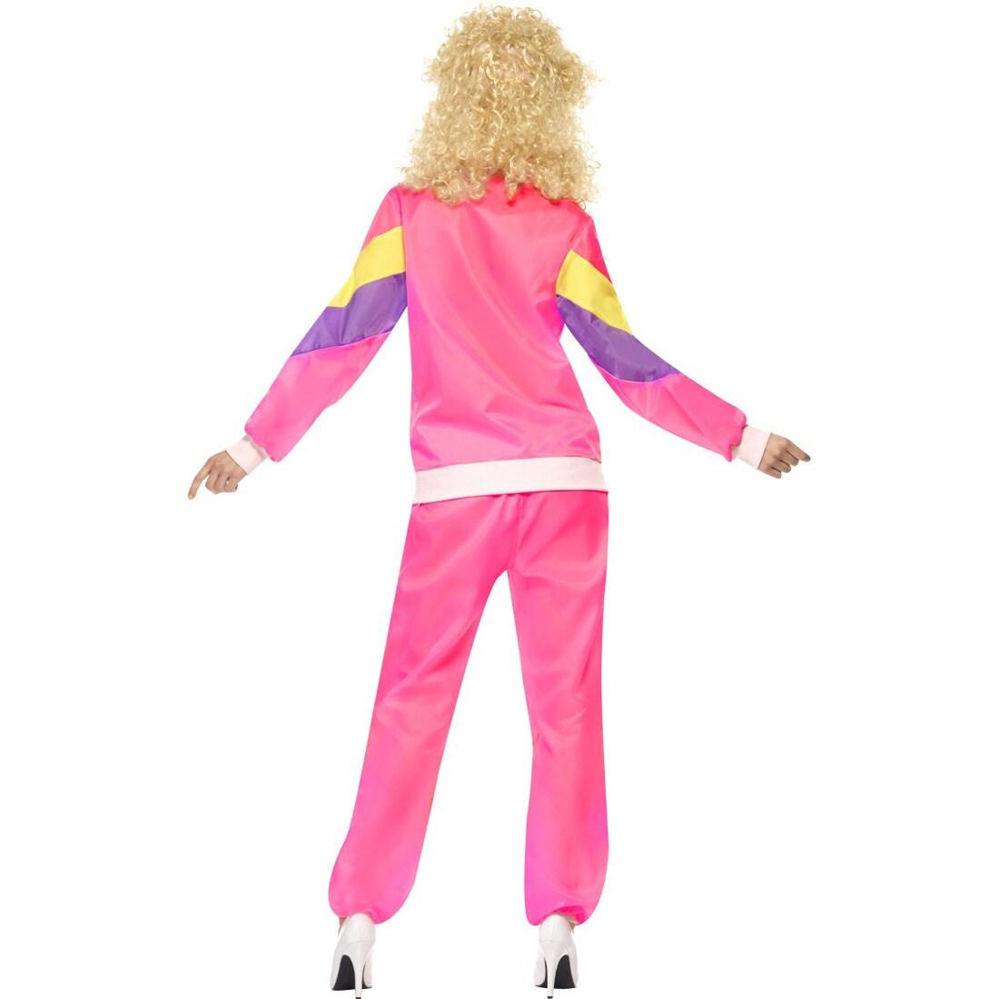 trainingsanzug kost m 80er jahre outfit damen jogginganzug. Black Bedroom Furniture Sets. Home Design Ideas