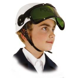 mit Visier für Kinder Polizistenhut SWAT-Helm Polizei Polizeihelm S.W.A.T