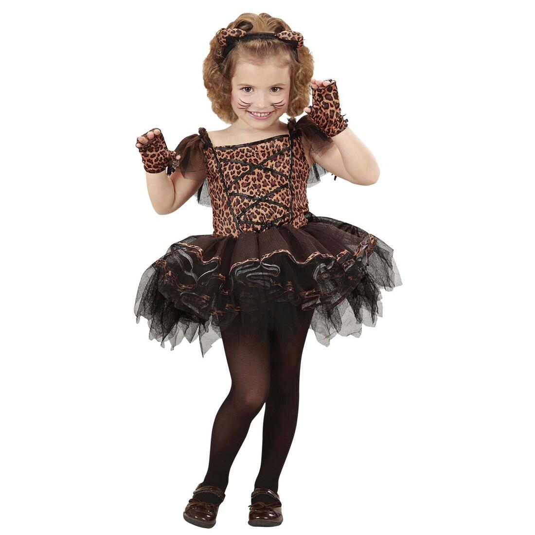 Ballerina Kostüm Leopard Tutu Katzenkostüm Kinder