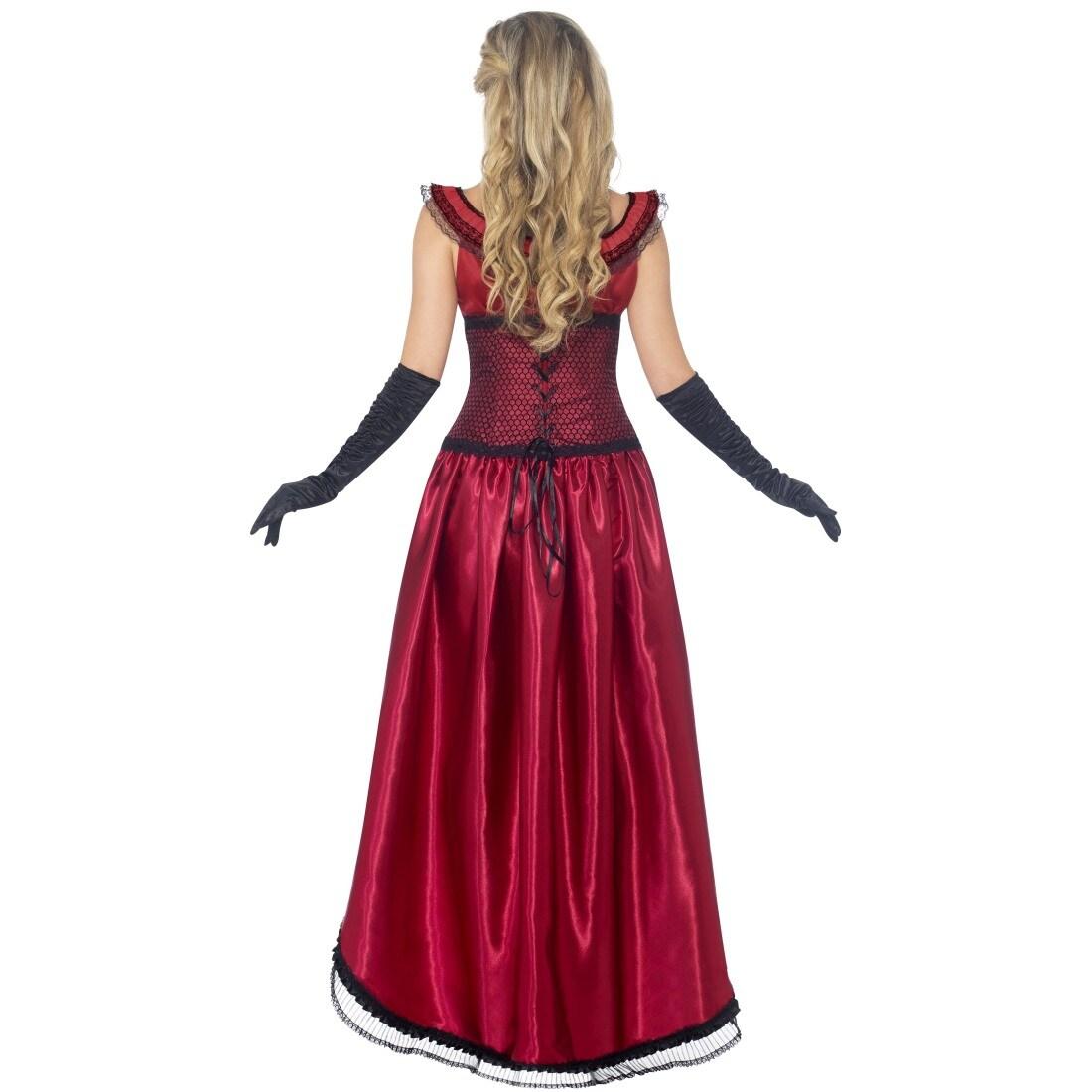 Saloonlady Cancan Kostüm Kleid Burleske Saloon Lady Saloongirl Burlesque