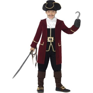 Kinder Piratenkostum Edel Piraten Kostum Captain Hook Piratkostum